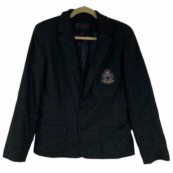 Ralph Ralph Lauren heathered gray blazer. Lrg